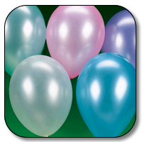 144 Count 12 Inch Latex Balloons - Pearlized