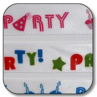 5/8 Inch x 25 Yards Party Party!!!