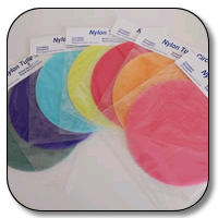 9 Inch Nylon Tulle Circles - 500 Pieces