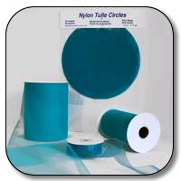 9 Inch Nylon Tulle Circles - 100 Pieces
